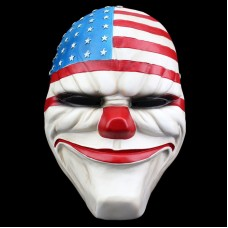 Top Quality Payday 2 Dallas Mask Resin Masks