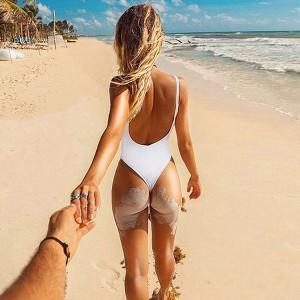 Quality Sling and Backless Bikini Women One-piece Swimsuit
