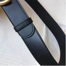 Top Quality Leather Belt with interlocking Buckle Belts