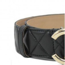 Original Quality Caviar Quilted Leather Belt for Women Brand New