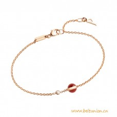 Top Quality Possession Bracelet Rose Gold with Diamond and Bead