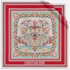 Top Quality in Heart Lights Square Silk Scarf