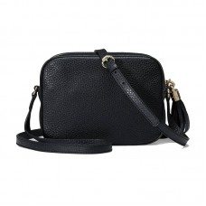 Top Quality Soho Small Leather Disco Shoulder Bag Top Zip Closure