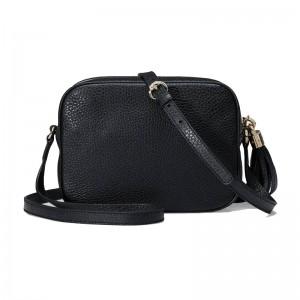Top Quality Soho Small Leather Disco Shoulder Bag Top Zip Closure