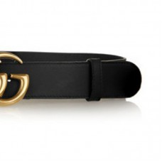 Top Quality Leather Belt with Interlocking Buckle Original Design