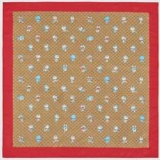 Top Quality Doraemon x G Silk Scarf 100% Silk