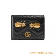 Top Marmont Cicada Stud Card Case with Two flat Pockets