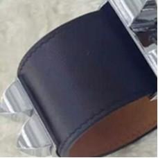 Top Quality Collier de Chien Bracelet Calfskin Leather with H Box