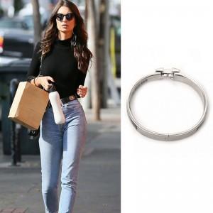 Top Quality Narrow Bracelet for Women with Enamel