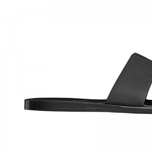 Top Quality Izmir Mens Sandal in Epsom Calfskin Black