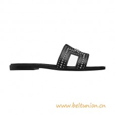 Top Quality Limited Sandals with Palladium Plated Rivets