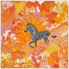Top Quality Mountain Zebra Silk Scarf
