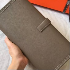 Top Quality Jige Duo Wallet Long Wallet in Epsom Leather