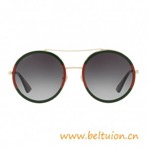 Top Quality Round-frame Metal Sunglasses for Women