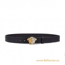 Top Quality Palazzo Demi Leather Thin Belt Three-dimensional Buckle
