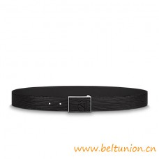 Top Quality Metropole 35mm Calf Leather Belt Black