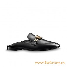 Top Quality Upper Case Open Back Loafer Eye-catching Loafer